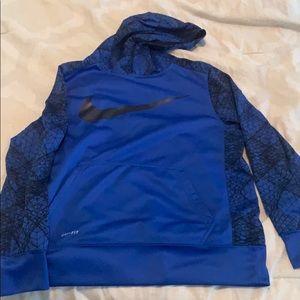 Nike kids dri fit hoodie!